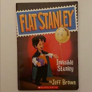 Flat Stanley: Invisible Stanley Book